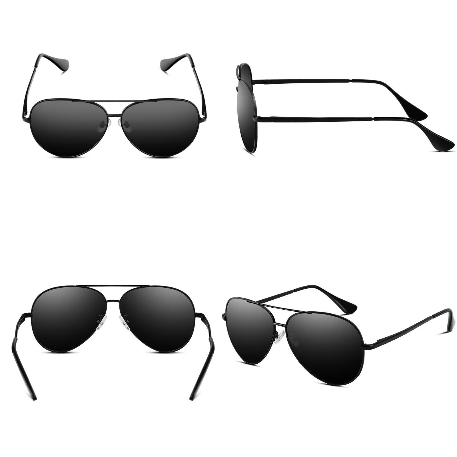 732c62c2ceda5 VVA Gafas de sol Hombre Polarizadas Aviador Hombres Aviador Gafas de ...