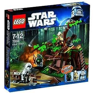 LEGO Star Wars - 7956 - Jeu de Construction - L'Attaque Ewok