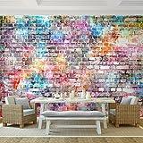 Fototapete Steinwand 308 x 220 cm - Vliestapete - Wandtapete - Vlies Phototapete - Wand - Wandbilder XXL - !!! 100% MADE IN GERMANY !!! Runa Tapete 9020010b