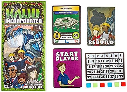 'Evil Tiene Productions ehp00026-Juego de Cartas Kaiju Incorporated: The Card Game