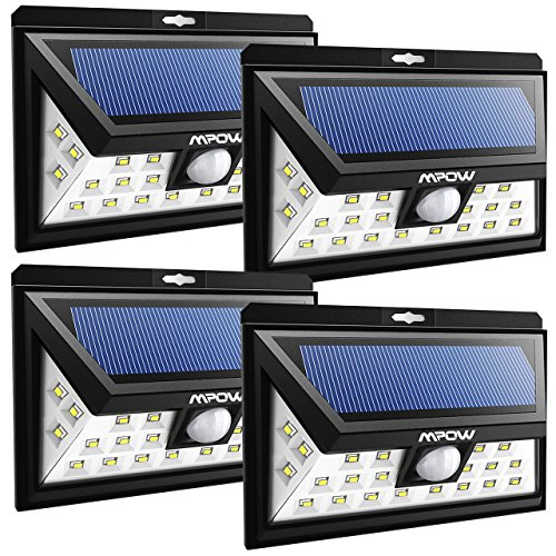 Lamparas solares exteriores LED Mpow