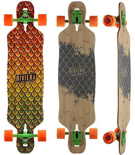Riviera - Beta Fish Mini Drop Through Longboard - Complete (Longboards Riviera)