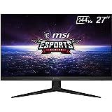 "MSI Optix G271 Monitor Gaming 27"", Display 16:9 FHD (1920x1080), Frequenza 144Hz, Tempo di risposta 1ms, Pannello IPS, AMD Fr"