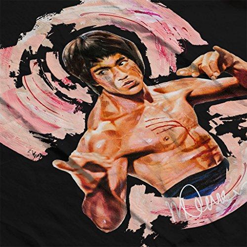 Sidney Maurer Bruce Lee Enter The Dragon Official Women's Vest Black