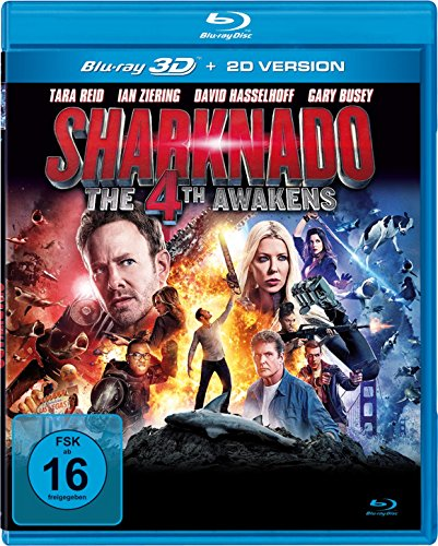 Sharknado 4: The 4th Awakens (uncut) [3D Blu-ray]