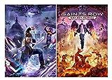 Set of 2 Saints Row IV Posters