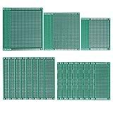 PCB Board, Hakkin, Doppelseitige Prototyp PCB Boards Kit Leiterplatte Platine PCB Universal Board für DIY Löten und Elektronik Projekt
