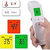 Entweg 10 PCS Termometro, Termometro Frontale Senza Contatto Termometro Digitale Portatile a infrarossi Oggetto Indicatore di