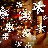 108 Schneeflocken, Fensterdeko, Fensterbilder für Weihnachts- und Winter- Dekoration, für Türen ,Schaufenster, Vitrinen, Glasfronten und mehr Vergleich