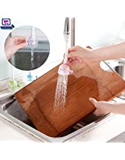 NYAL's 360 Degree Rotatable Kitchen Faucet Spray Head Tap Splash Filter Nozzle Water Saving Faucet with Adjustable Valve