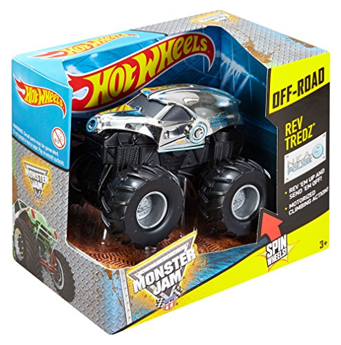Hot Wheels Monster Jam Rev Tredz New Earth Authority Vehicle by Hot Wheels