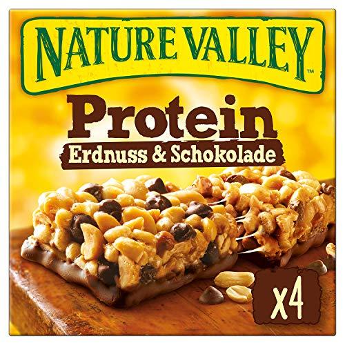 n Erdnuss & Schokolade, 4 Proteinriegel, 160 g ()