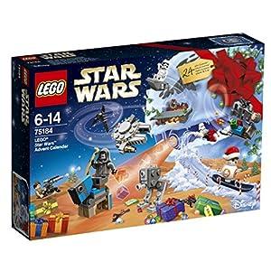 Calendrier de l'Avent Lego Star Wars afin de faire patienter votre enfant jusqu'à Noël. En attendant le passage du Père Noël, ouvrez chaque jour de décembre une petite fenêtre et découvrez ce qui se cache derrière. Ouvrez une porte numérotée jour apr...