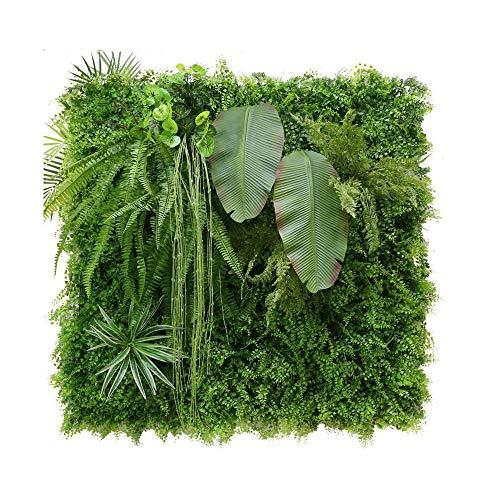 Xiaolin Künstlicher Zaun Sichtschutz Immergrüne Hecke Gefälschte Pflanzenwand 20