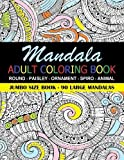eBook Gratis da Scaricare Mandala Adult Coloring Book 90 Large Mandalas Jumbo Size Book Fun for all Ages Adults and Kids can Relax with a Mandala Coloring Book by Frances P Robinson 2015 09 08 (PDF,EPUB,MOBI) Online Italiano