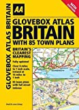 AA Glovebox Atlas Britain with 85 Town Plans (Road Atlas) by AA Publishing (2013) Spiral-bound
