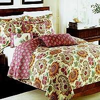 WYFC Algodón Acolchado de tres piezas de alta temperatura de lavado de ropa impresa conjunto de cama de algodón 1 bed cover 2pcs funda de almohada . Reina