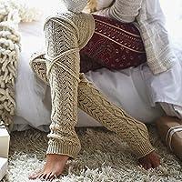 Calcetines Medias para Mujer Modernos Originales y Deportivos Yesmile ❤️ para chicas damas y mujeres Muslo Sobre los calcetines de la rodilla Medias largas de algodon Calentar