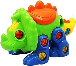 STOBOK Stegosaurus Dinosaur Take Apart Toys Set Educational Construction Toys Kit with Tools Gift for Boys Girls Toddlers