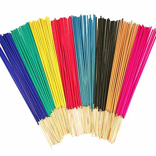 crazygadget-extra-long-incense-joss-sticks-scents-pack-of-100-1-hour-burning-time-lemon