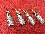 Generic 5Pair=10pcs/lot 24K Gold Speaker Pin 2mm Banana - Best Reviews Guide