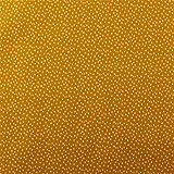 Muster French Terry mit Punkten Spikkel - Ocker Gelb