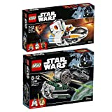 Lego Starwars 2er Set 75168 75170 Yoda's Jedi Starfighter + The Phantom