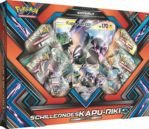 Große Kapu (Pokémon Pokemon 25957 Company International 25957-PKM Shiny Kapu-Riki-GX Box DE, bunt)