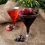 Einweg Martini Gläser 142ml/140ml–Set von...Vergleich