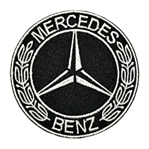 Ecusson brode patch MERCEDES BENZ CLK S E C Class CDI Kompressor logo Embroidered Iron or Sew on Patch by wonderfullmoon