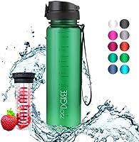 """720°DGREE Trinkflasche """"uberBottle"""" - 1l - Deine Lifestyle Wasserflasche - Die Sportflasche für Sport, Gym, Fitness,..."""