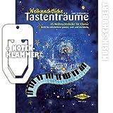 Weihnachtliche Tastenträume inkl. praktischer Notenklammer - 45 bekannte Weihnachtslieder für Klavier, leicht bis mittelschwer gesetzt, zwei- und vierhändig (broschiert) von Anne Terzibaschitsch (Noten/Sheetmusic)