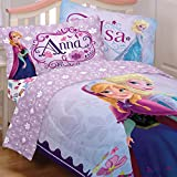 Disney Frozen Full Bedding Set 5pc Anna ...
