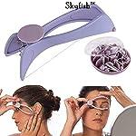 Skyfish Slique Eyebrow Face and Body Hair Threading Removal Epilator Tweezer Kit
