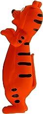 Crunchy Munchy Jumping Tiger Squeaky Latex Toy