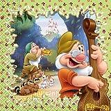 Servietten * Disney's Sieben Zwerge * 20 Stück / 33 x 33 cm