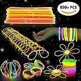 Bramble 544 Stück Knicklichter Leuchtstäbe - Ideal für Partys, Partygeschenke, Piñata Spielzeug, Belohnungen, Weihnachten, Neujahr usw.