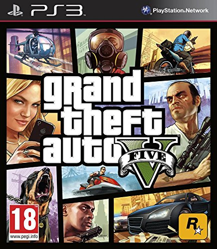 Grand Theft Auto 5 (GTA V) PS3 (Theft V Grand Ps3 Auto)