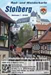 Stolberg: Rad- und Wanderkarte mit St...