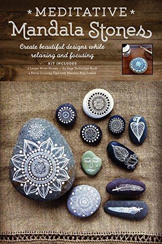 Meditative Mandala Stones: Create Beautiful Designs while Relaxing and Focusing por Maria Mercedes Trujillo Arango