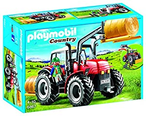 tractores: Playmobil Granja Tractor, única (6867)