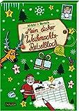 Mein dicker Weihnachts-Rätselblock: Rätsel, Spiele Witze, Scherzfragen, Labyrinthe und vieles mehr
