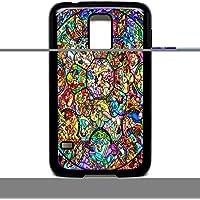 Galaxy S5 Funda carcasa de vidriera de disney Mickey