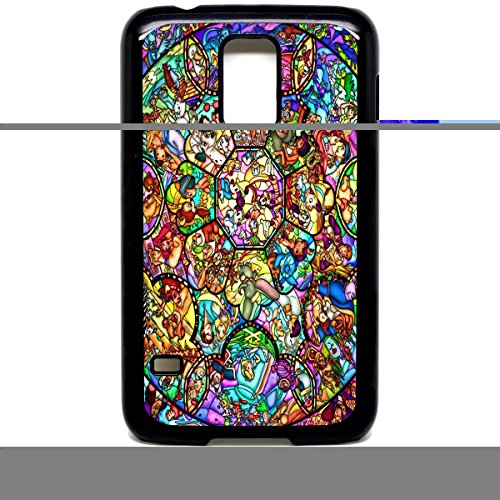 (Galaxy S5 Telefon Fall Cute Mickey Disney gebeizt Glas Cartoon)