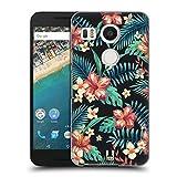 Head Case Designs Bloom Imprimées Tropicaux Étui Coque D'Arrière Rigide pour LG Nexus 5X