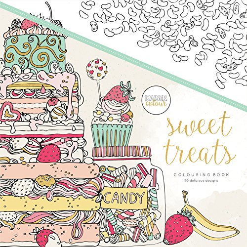 KAISERCRAFT   LIBRO PARA COLOREAR SWEET TREATS (CL521)