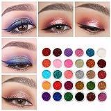 Bluelover 30 Colori Misti Glitter Ombretto Polvere Pigmento Set Mineral Lustro Trucco Degli Occhi