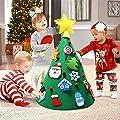 Aparty4u 3D Fai da Te Albero di Natale Toddler Friendly…