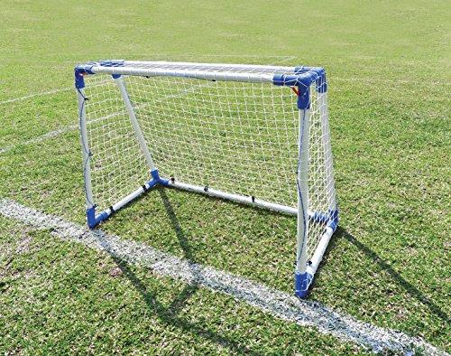 Outdoor Play   Fußball & Street Hockey Tor aus Stahlrohr für Garten, Straße und Schulhof - 110 x 90 cm (Kunststoff-hockey-tor)