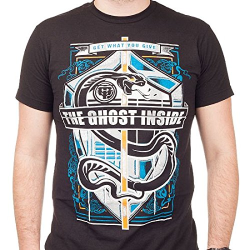 The Ghost Inside Snake Crest T-Shirt nero M